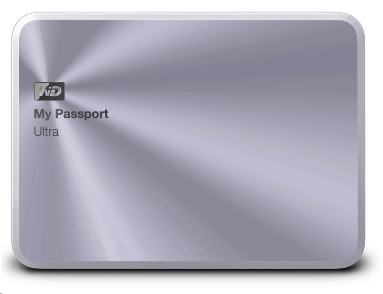"""WD My Passport ULTRA METAL 1TB Ext. 2.5"""" USB3.0, Silver"""