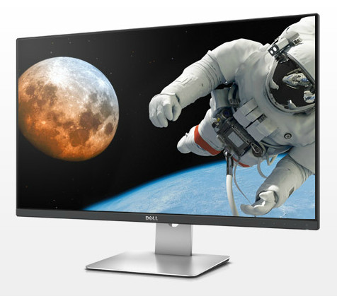 "Dell S2715H WLED LCD 27""/6ms/1000:1/Full HD/VGA//HDMI/USB/IPS panel/repro/cerny"