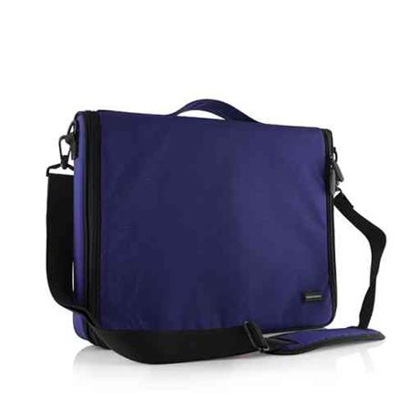 "Modecom brašna Torino na notebooky do velikosti 15,6"" modrá"