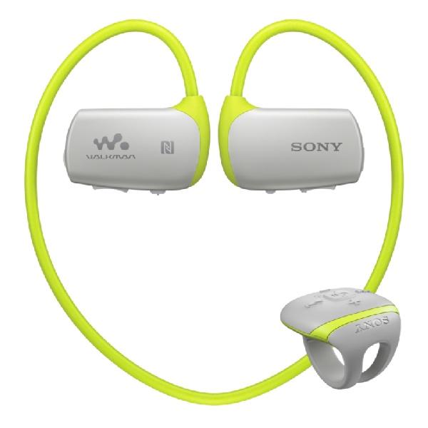SONY NWZ-WS613 - Sportovní MP3 přehrávač - Green