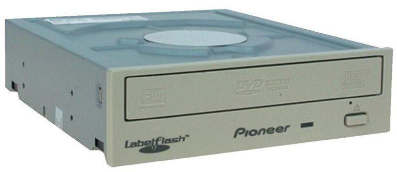 Pioneer DVR-S21LWK DVD±RW/SATA/interní/Labelflash/bílá/retail