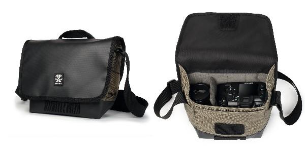 Crumpler Muli 2500 - black tarpaulin / khaki