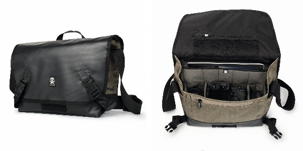 Crumpler Muli 4500 - black tarpaulin / khaki