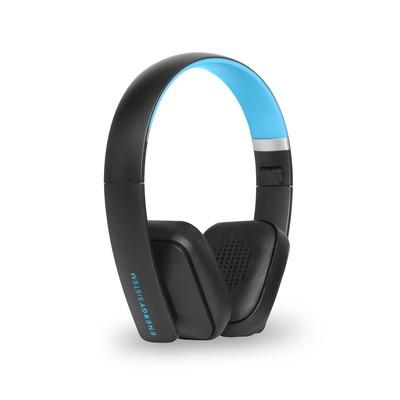 ENERGY Headphones BT2 Bluetooth Cyan, skládací sluchátka s mikrofonem,20 Hz - 20 kHz,