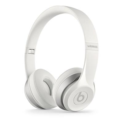 Apple Beats by Dr. Dre Solo 2 Wireless On-Ear Headphones - White