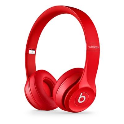 Apple Beats by Dr. Dre Solo 2 Wireless On-Ear Headphones - Red