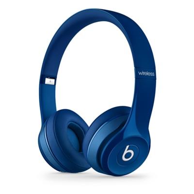 Apple Beats by Dr. Dre Solo 2 Wireless On-Ear Headphones - Blue