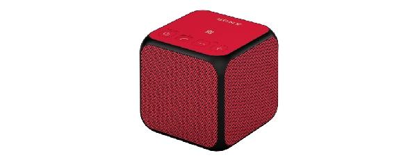 SONY SRS-X11 Přenosný bezdrátový reproduktor s technologií Bluetooth® -Red