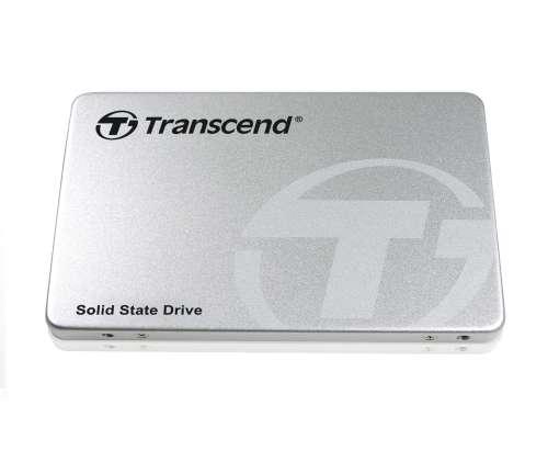 TRANSCEND SSD370S 128GB SSD disk 2.5'' SATA (MLC), Aluminium casing