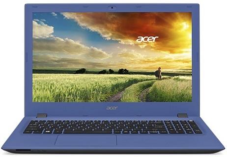 """Acer Aspire E 15 (E5-573-P1U3) Pentium3825U/4GB+N/500GB+N/HD Graphics/DVD-RW/15,6"""" FHD LED/BT/W 8.1/Blue"""