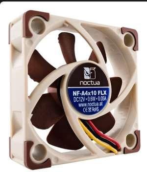 Noctua NF-A4x10 FLX, 40x40x10mm, 3-pin, 4500/3700pm