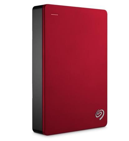 """Seagate Backup Plus, 2TB externí HDD, 2.5"""", USB 3.0, kovový červený"""