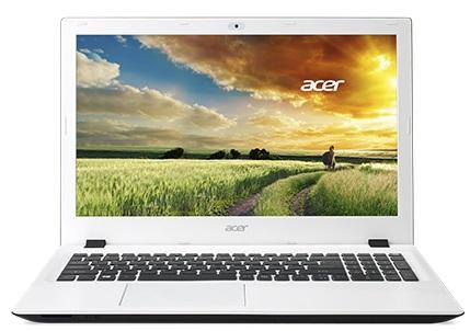 """Acer Aspire E 15 (E5-573-326P) i3-5005U/4GB+N/1TB + N/DVDRW/HD Graphics/15.6"""" FHD matný/BT/W10 Home/Cotton White"""