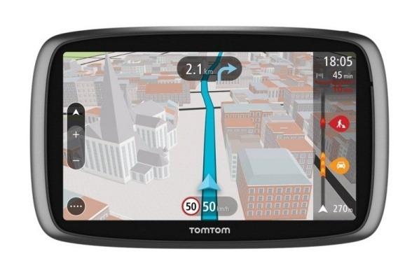 "TOMTOM Trucker 6000 Europe, Lifetime mapy, 6"" displej !"