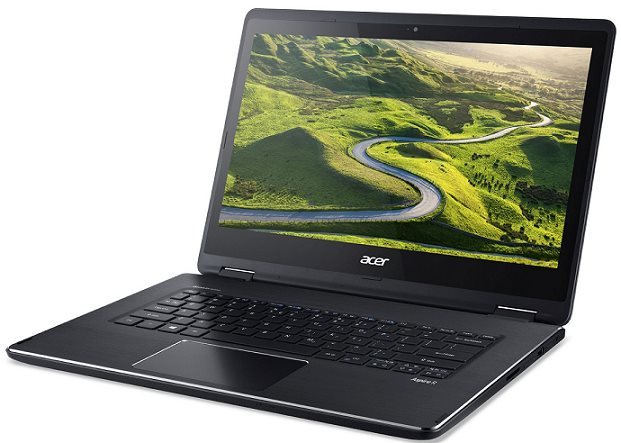 """Acer Aspire R 14 (R5-471T-766J) i7-6500U/8GB+N/256GB SSD+N/HD Graphics/14"""" FHD IPS Multi-touch/BT/W10 Home/Black"""