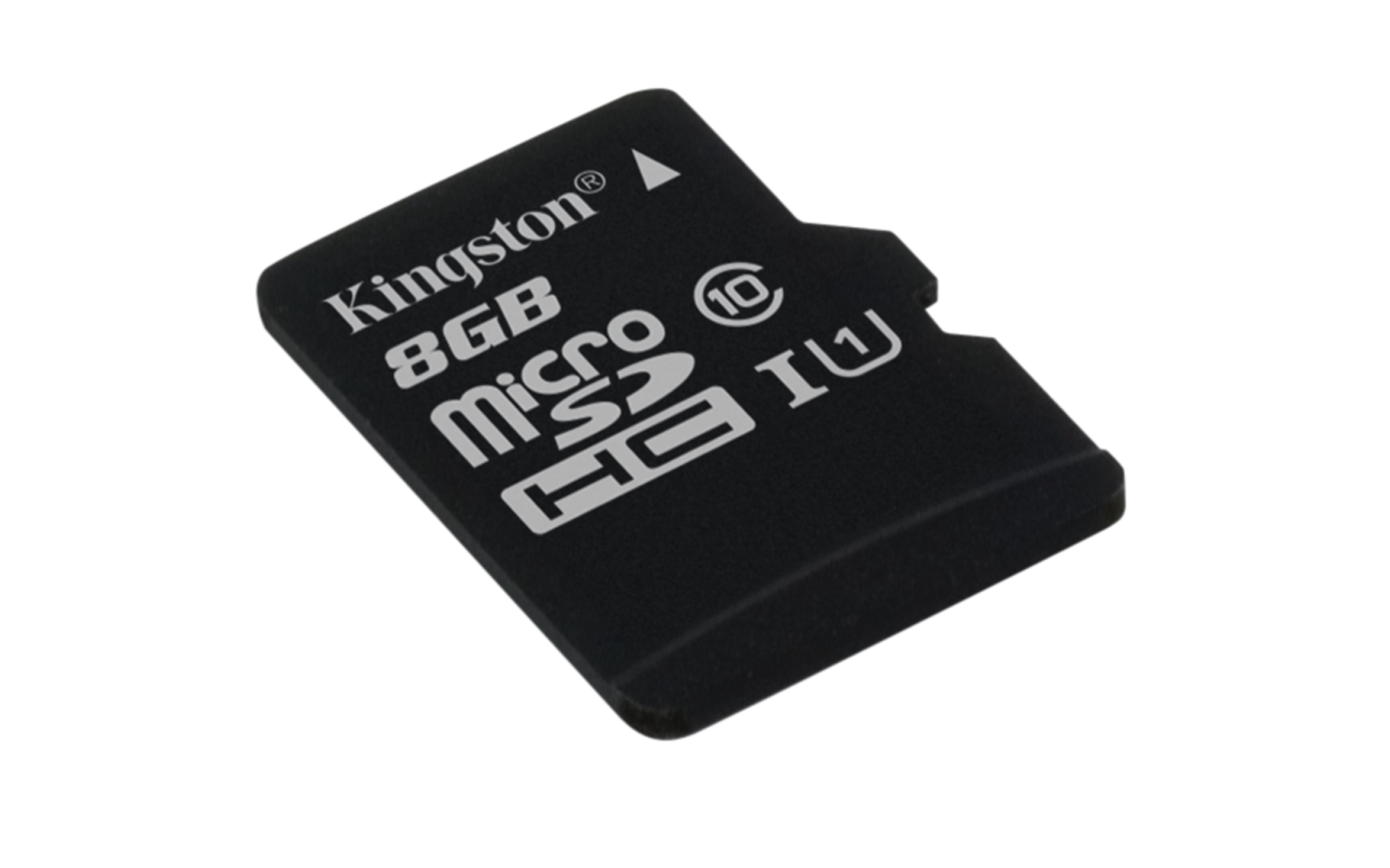 KINGSTON 8GB microSDHC Memory Card 45MB/10MBs- UHS-I class 10 Gen 2 - bez adaptéru