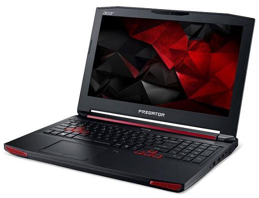 """Acer Predator 15 (G9-591-74P2) i7-6700HQ/8GB+N/1TB 7200 ot. +N/DVDRW/GeForce GTX 970M 3GB/15.6"""" FHD IPS/BT/W10 Home/Black"""